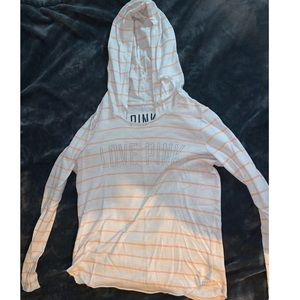 Think sweater with hoodie